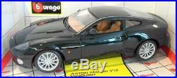 Burago 1/18 Scale Diecast 34063 Aston Martin Vanquish Dark green