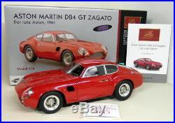 CMC 1/18 Scale M-146 Aston Martin DB4 GT Zagato Red High End Diecast Model Car