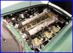 CMC 1/18 scale diecast M-132 Aston Martin DB4 GT Zagato Metallic Green