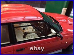 CULT MODELS CML033-1 ASTON MARTIN ZAGATO COUPE model car red 1986 118th scale