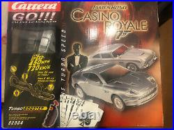 Carrera Go James Bond Casino Royale Slot- Racing set 143 Scale