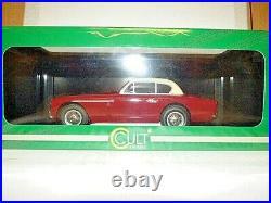Cult Aston Martin DB2-4 MK2 FHC red/cream 1952 1/18th scale REF CML096-2