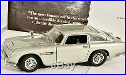 Danbury Mintrarejames Bond 007 -aston Martin Db-5 1/24 Scale-goldfinger Nice