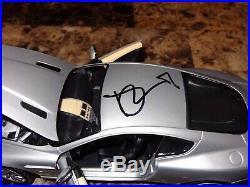 Daniel Craig Signed Aston Martin D89 118 Scale Car James Bond 007 Casino Royale