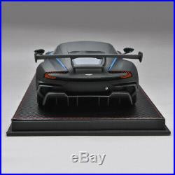 FrontiArt Avan Style 118 Scale Aston Martin Vulcan Matt Black Car Model Limited