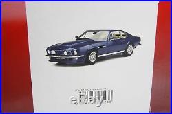 GT Spirit 118 scale Aston Martin V8 Vantage V580 X-Pack 1986 Blue(LE 500) GT744