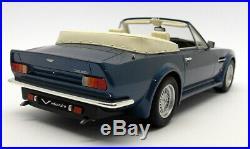 GT Spirit 1/18 Scale Resin GT128 Aston Martin V8 Volante Blue FAULTY
