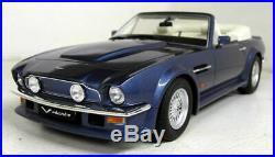 GT Spirit 1/18 Scale Resin GT128 Aston Martin V8 Volante Met Blue