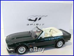 GT Spirit 1/18 Scale Resin ZM091 Aston Martin V8 Volante Dark Green 1 of 504