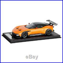 Genuine Aston Martin Vulcan Scale Model 118 OEM Brand NEW Pearl Orange