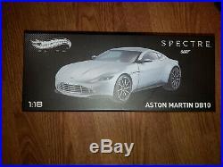 Hot Wheels Elite James Bond Spectre Aston Martin DB10 Die-cast Vehicle118 Scale