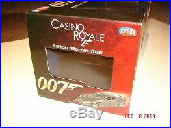 JAMES BOND 007 ASTON MARTIN DBS Casino Royale 1/18 Scale by JOYRIDE Diecast MIB