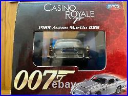 JOYRIDE ASTON MARTIN JAMES BOND 007 CASINO ROYALE 1/18 scale DANIEL CRAIG