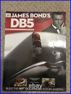 James Bond 007 Aston Martin Db5 18 Scale Build Goldfinger Car Part 71