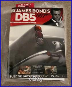 James Bond 007 Aston Martin Db5 18 Scale Build Goldfinger Car Part 77