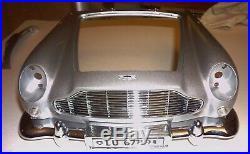 James Bond 007 Aston Martin Db5 18 Scale Build Goldfinger Part 77 Vgc