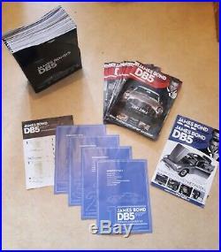 James Bond 007 DB5 Aston Martin Scale 18 Classic Model Car 70 Parts Eaglemoss