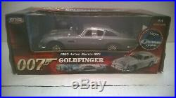 Joyride 007 James Bond Goldfinger 1965 Aston Martin DB5. NIB. ERTL. 118 Scale