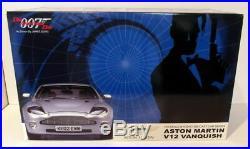 Kyosho 1/12 Scale 08603SB Aston Martin V12 Vanquish 007 James Bond +Display Case