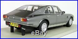 LS Collectibles 1/18 Scale Aston Martin Lagonda 1974 Saloon Silv Resin Model Car