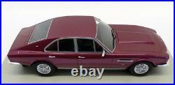 LS Collectibles 1/18 Scale LS024A 1974 Aston Martin Lagonda Saloon Red