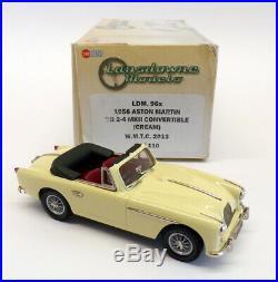 Lansdowne Models 1/43 Scale LDM96X 1956 Aston Martin DB 2-4 Mk II 1 Of 110