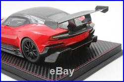 Limited FrontiArt Avan Style 118 Scale Aston Martin Vulcan Red Resin Car Model