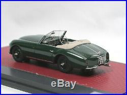Matrix Scale Models 1952 Aston Martin DB2 Vantage DHC by Graber open 1/43