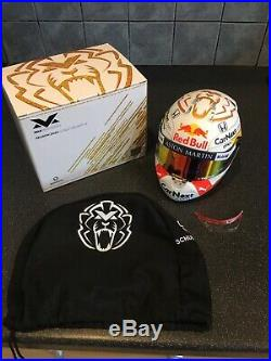 Max Verstappen 2020 Aston Martin Red bull Racing Half 1/2 Scale Helmet
