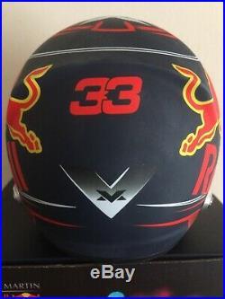 Max Verstappen Aston Martin Red Bull 2018 1/2 Scale Arai Helmet