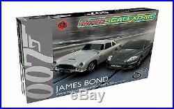 Micro Scalextric James Bond Aston Martin 164 Scale Slot Car Race Set