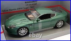 Minichamps 1/18 Scale 150 137322 2003 Aston Martin DB9 Coupe Metallic Green