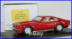 SMTS 1/43 scale CL51 Aston Martin V8 Vantage O. I. Red