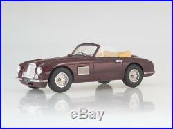 Scale model 118 Aston Martin DB2 DHC, dark red