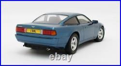 Scale model car 118, ASTON MARTIN Virage 1988 Metallic Blue
