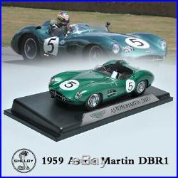 Shelby Original Car Model 118 Scale 1959 Aston Martin DBR1 #5 Le Mans Racing