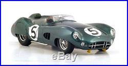 Spark 18LM59 Aston Martin DBR1 Le Mans Winner 1959 Salvadori/Shelby 1/18 Scale