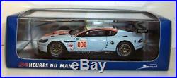 Spark 1/43 Scale S1214 Aston Martin Racing DBR9 #009 Le Mans 2008 LMGT1 Class