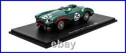 Spark S2422 Aston Martin DB3 S Le Mans 1955 Brooks/Riseley-Prichard 1/43 Scale