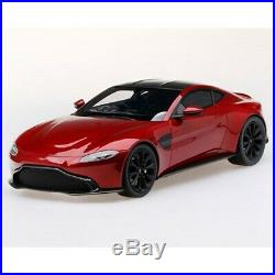 TopSpeed 118 Scale Aston Martin Vantage Model Hyper Red TS0184 NEW IN BOX
