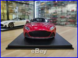 TopSpeed Aston Martin DBS Superleggera Hyper Red 1/18 Scale Resin Car Model Toy