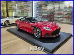 TopSpeed Aston Martin DBS Superleggera RED 1/18 Scale Resin Car Model Toy TS0266