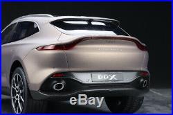 Top Speed 118 Scale Aston Martin DBX SUV Satin Solar Bronze Color Car Model