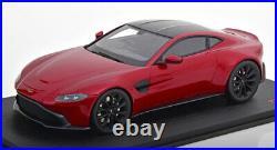 Top Speed 2018 Aston Martin Vantage Dark Red in 1/18 Scale New Release