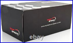 Top Speed Aston Martin Vanquish Zagato Speedster Black in 1/18 Scale New