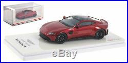 Truescale Aston Martin Vantage 2018 Hyper Red 1/43 Scale