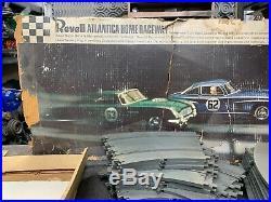 Vintage Revell Slot Car Track Set 1/32 Scale Aston Martin /Mercedes Benz