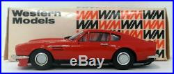 Western Models 1/43 Scale WP109X 1982 Aston Martin V8 Red
